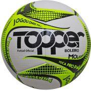 Bola de Futsal Boleiro Oficial 2019 - Topper