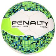 Bola Futsal Digital 500 Com Costura - Penalty