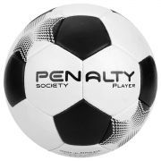 Bola de Society Player VII Branco e Preto - Penalty