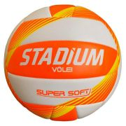 Bola de Vôlei Super Soft Laranja/Amarelo - Stadium