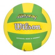 Bola de Vôlei Super Soft Play Verde/Amarelo - Wilson