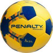Bola Handebol Penalty H3L Pvc Amarelo Sem Costura