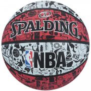 Bola Basquete NBA Graffiti (Vermelho) - Spalding