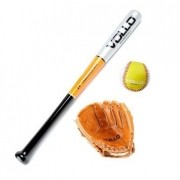 Kit Luva + Taco + Bola de Baseball Junior - VB2409B - Vollo