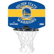 Micro Mini Tabela de Basquete Spalding NBA Golden State Warriors