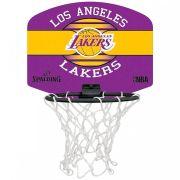 Micro Mini Tabela de Basquete Spalding NBA Los Angeles Lakers