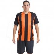 Uniforme Esportivo Milan 18 de Linha e 1 Goleiro Ref 5913