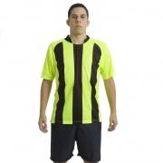 Uniforme Esportivo Milan 18 de Linha e 1 Goleiro Ref 5915