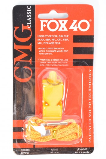 Apito Classic CMG com Bico de Silicone - Fox 40