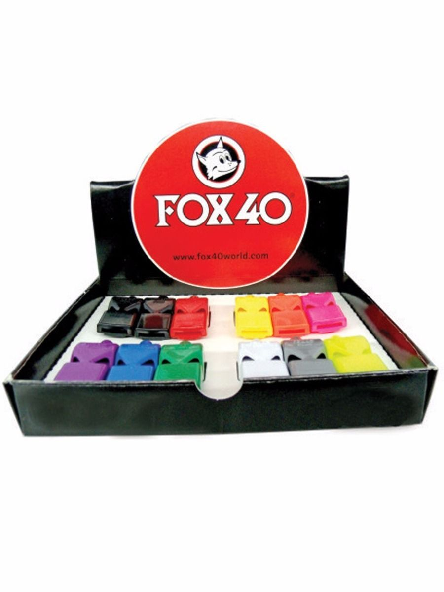 Apito Pearl - Fox 40 (Vendido por Unidade)  - ESTAÇÃO DO ESPORTE