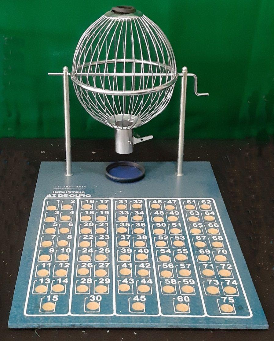 Bingo Cromado Médio Nº2 - Az de Ouro