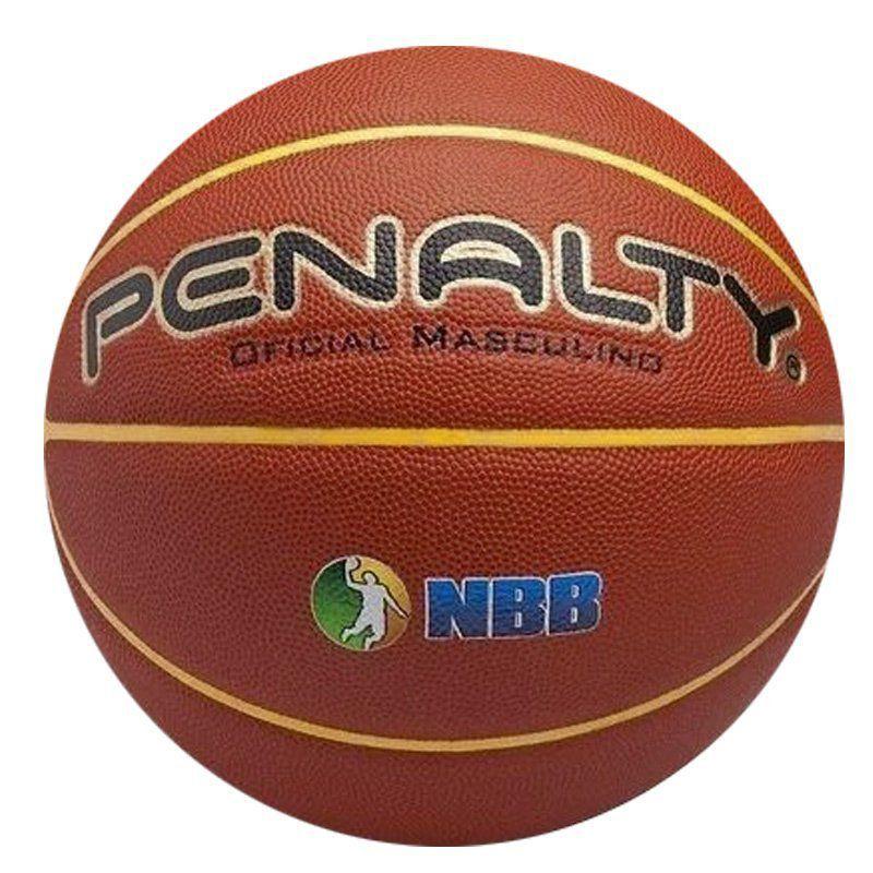 Bola De Basquete Masculino Profissional Penalty 7.8 Crossover IX