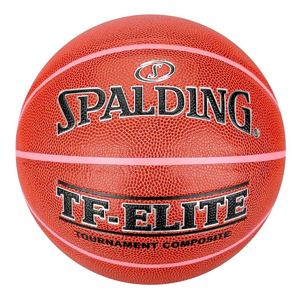 5af26a92b6856 Bola De Basquete Spalding Tf Elite Tamanho 6 Feminino - ESTAÇÃO DO ESPORTE