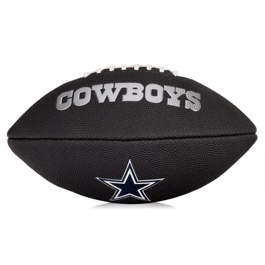 Bola de Futebol Americano Wilson NFL Team Jr Dallas Cowboys Black Edition