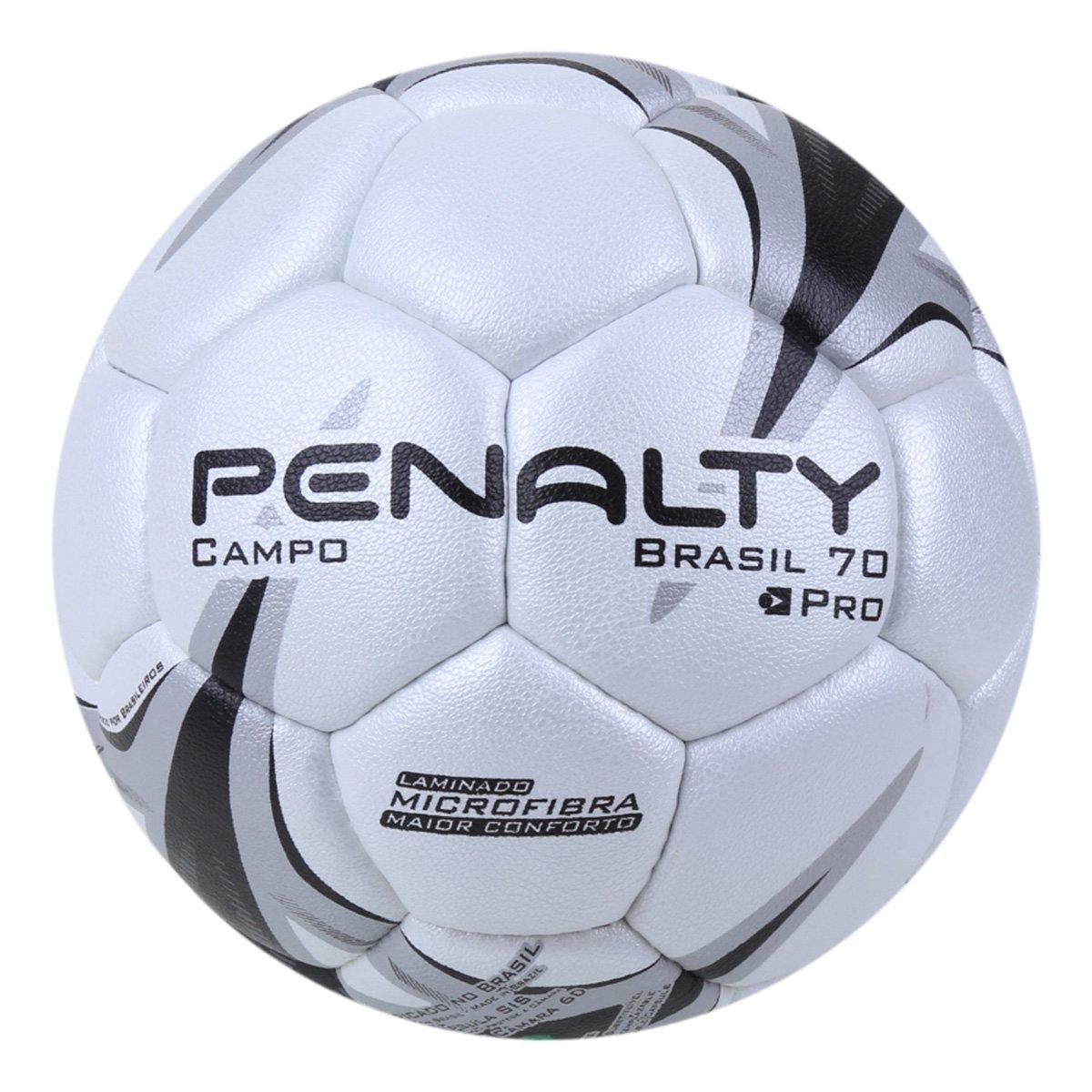 Bola de Futebol Campo Penalty Brasil 70 Pró Juvenil N4 X