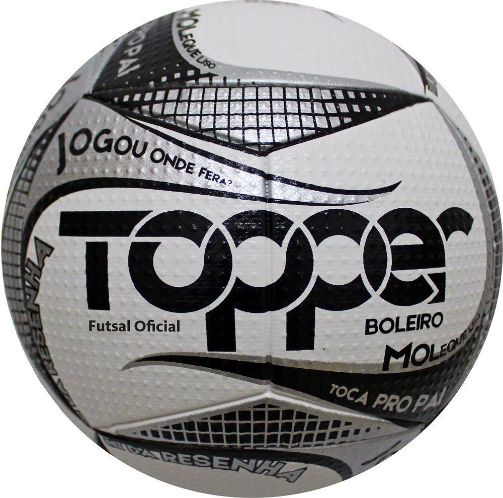 Bola de Futsal Boleiro S/C 2019 - Topper