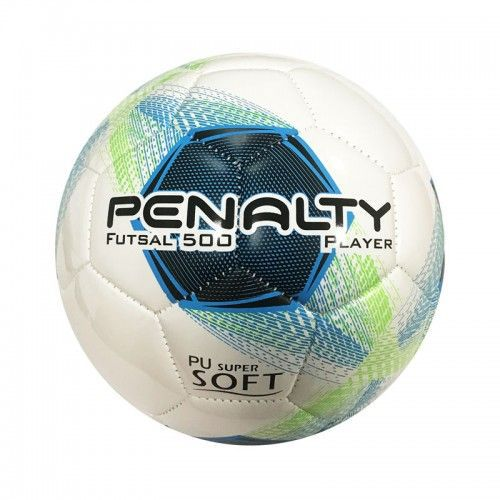 Bola de Futsal Player 500 VIII Costurada Azul - Penalty