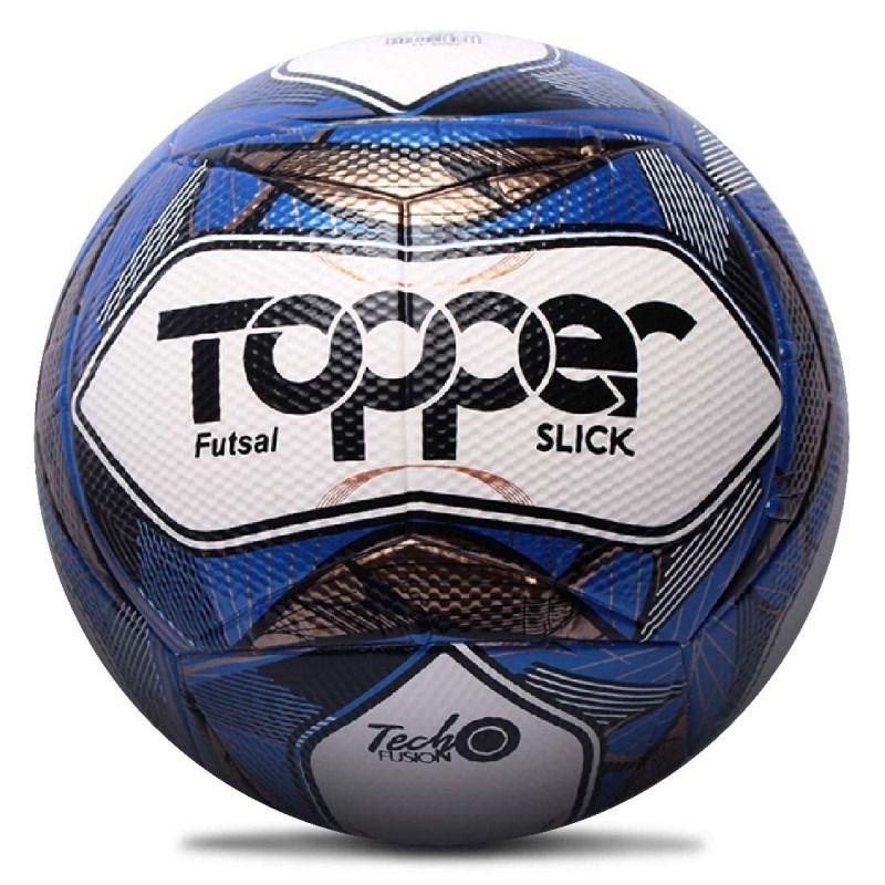 Bola de Futsal Slick II Azul 2019 - Topper