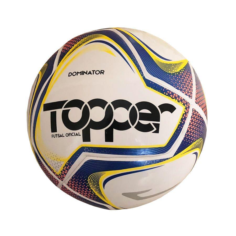 Bola de Futsal Topper Dominator TD1 Oficial 2019