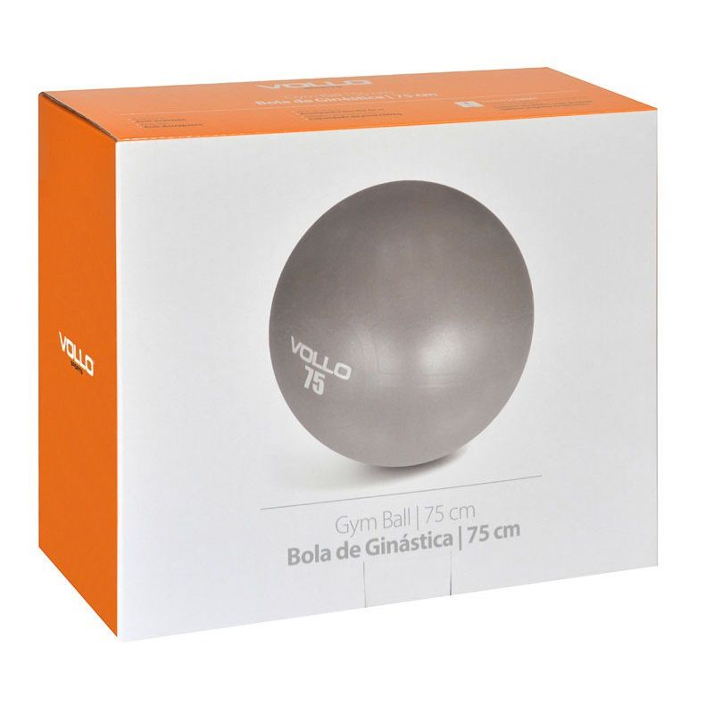 Bola de Ginástica Gym Ball 75cm - Vollo
