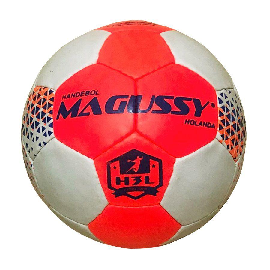 Bola de Handebol Magussy Holanda H3L Grip Costurada