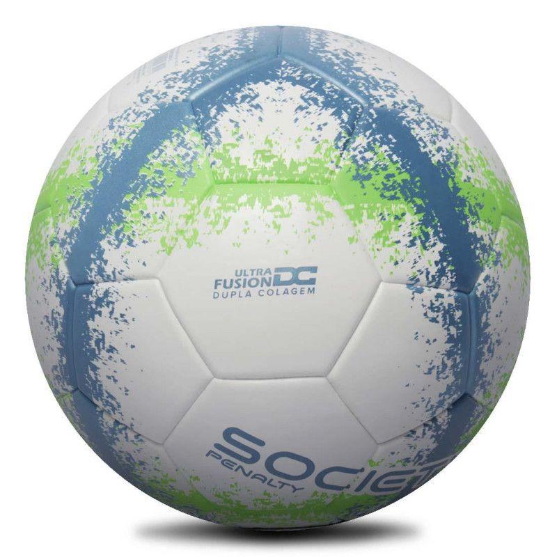 Bola Society Rx R3 Fusion VIII (Azul e Verde) - Penalty