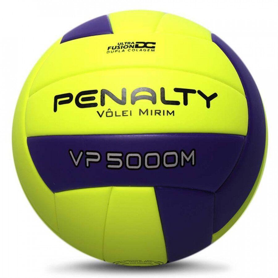 Bola de Vôlei Penalty VP 5000M Mirim X Amarela e Roxa