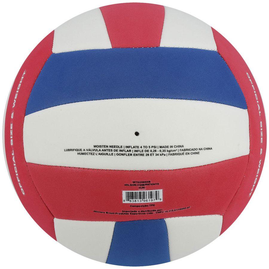 970c695eb ... Bola de Vôlei Super Soft Play Azul Vermelho - Wilson - ESTAÇÃO DO  ESPORTE