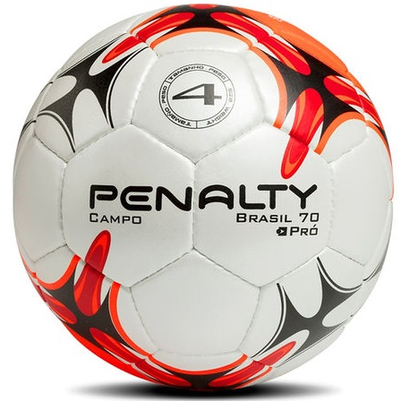 Bola Futebol de Campo Brasil Número 04 - Infantil - Penalty 2e279b12f918d