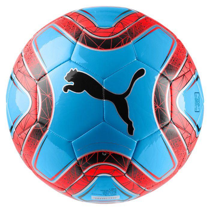 Bola Futebol de Campo Final 6 MS Azul/Vermelho - Puma