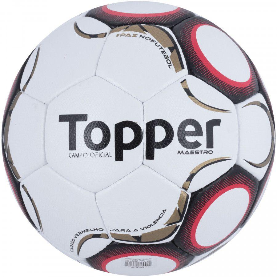 9bdb5e5ba1e29 Bola Futebol de Campo Maestro TD1 - Topper - ESTAÇÃO DO ESPORTE