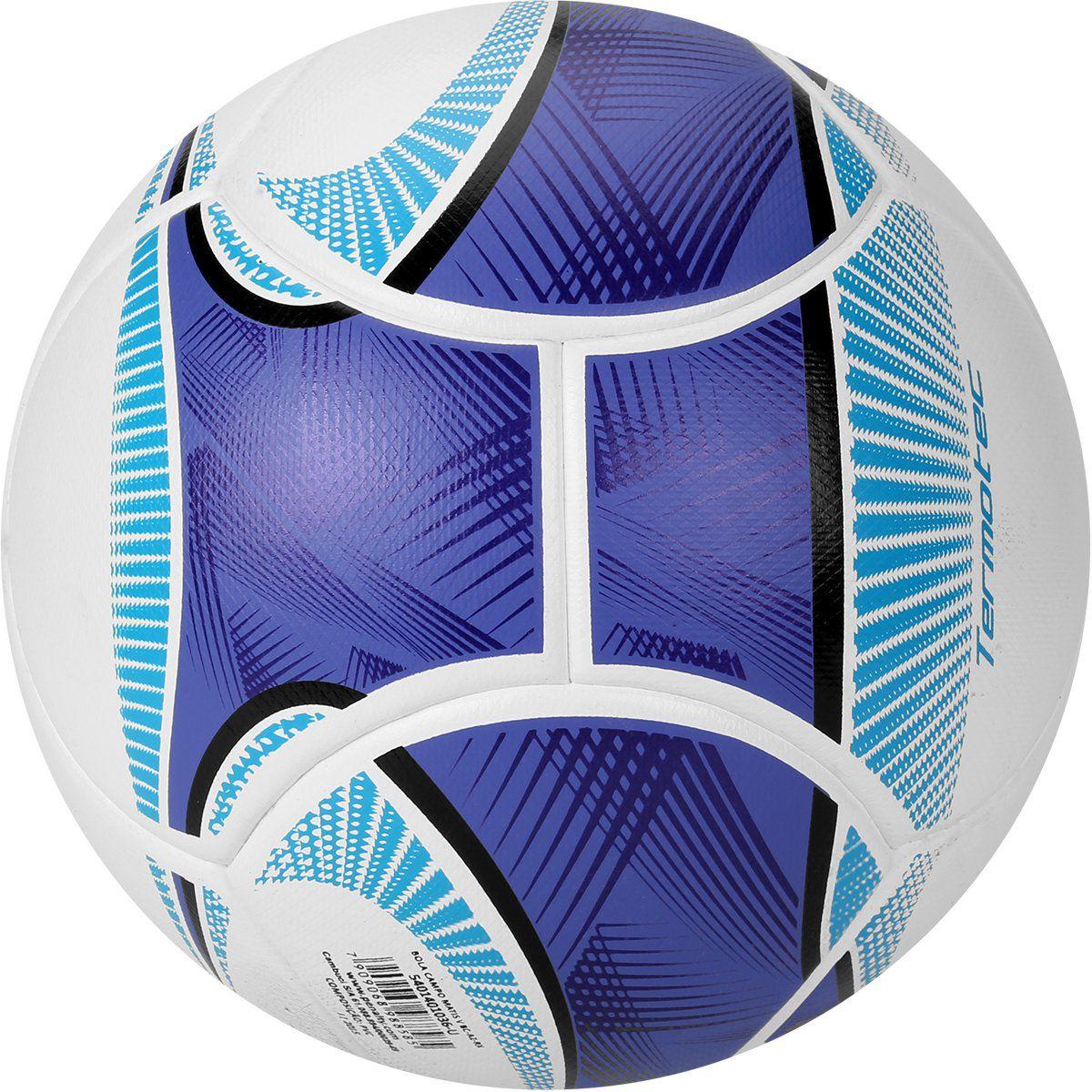 Bola Futebol de Campo Penalty Matis V Termotec Branco e Azul