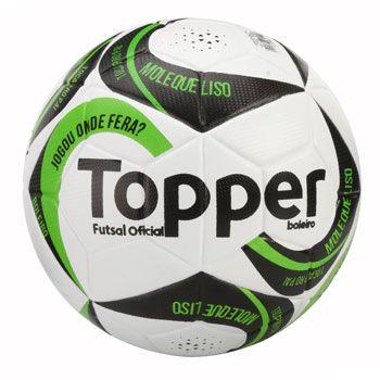 382f5d707d Bola de Futsal Boleiro II Oficial - Topper