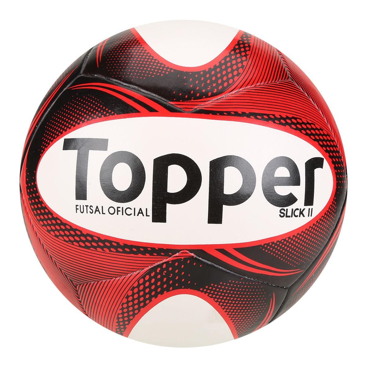 8312cc59be Bola Futsal Slick II - Topper