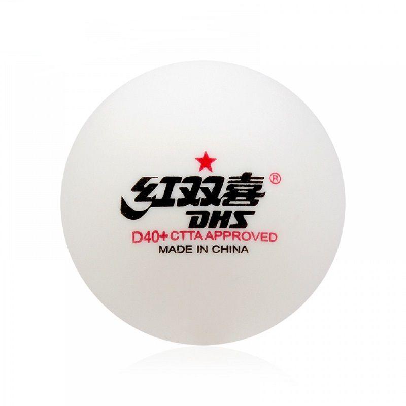 Bola para Tênis de Mesa CellFree Dual 1 Estrela (10 und) - DHS