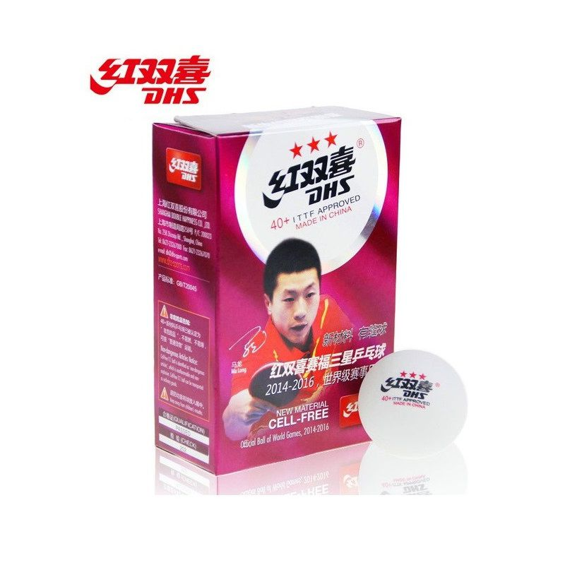 Bola para Tênis de Mesa Profissional (6 und) - DHS