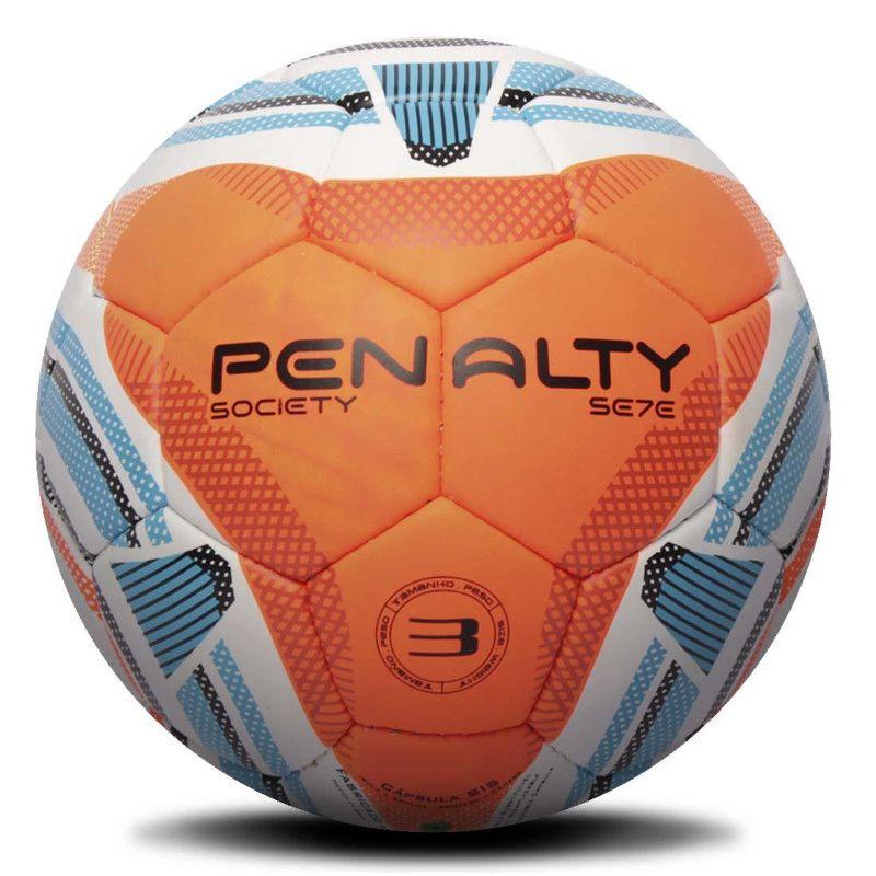 Bola Penalty Society SE7E n3 IX Infantil Com Costura