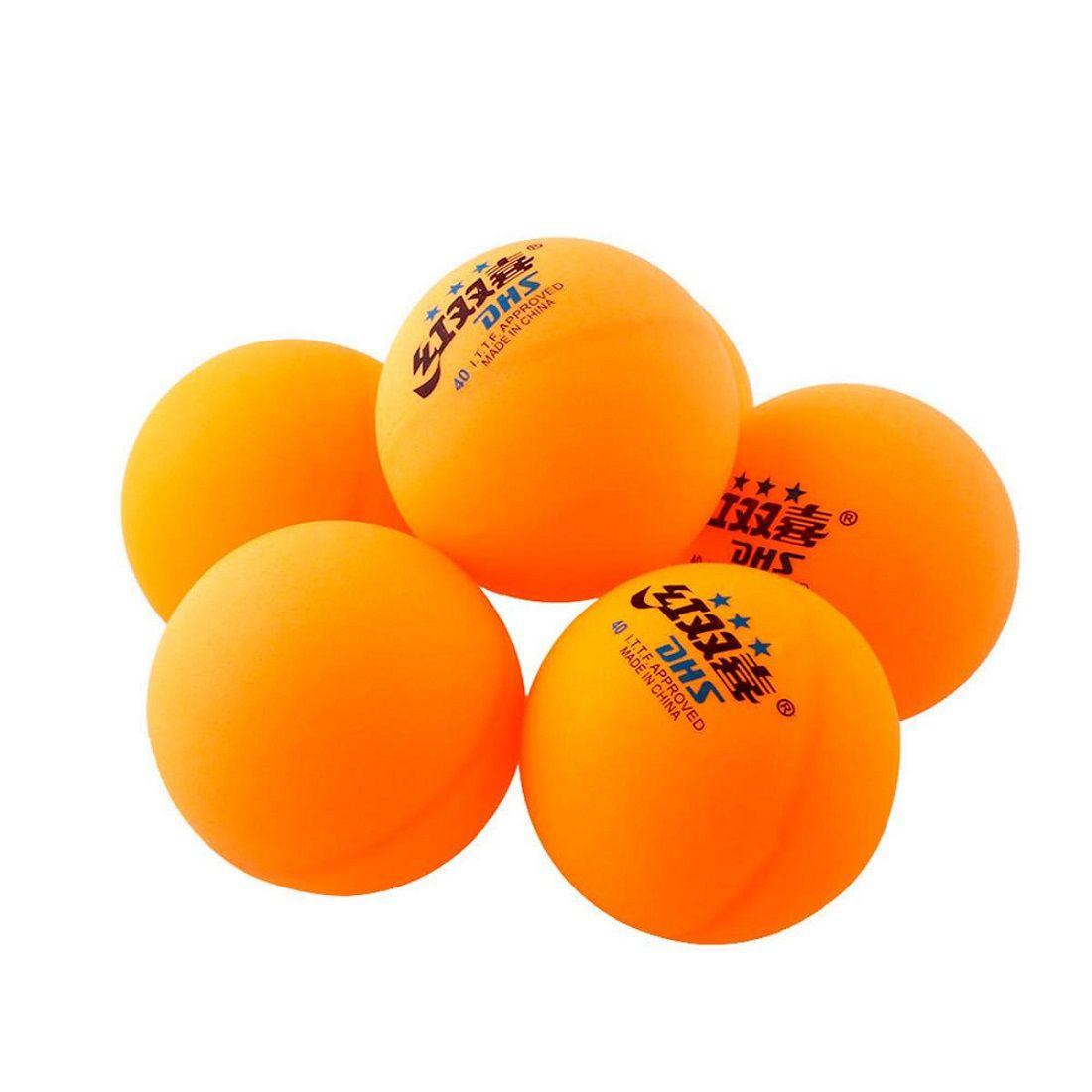 Bola Tênis de Mesa DHS 1 Star T.T. Ball 10 Unidades