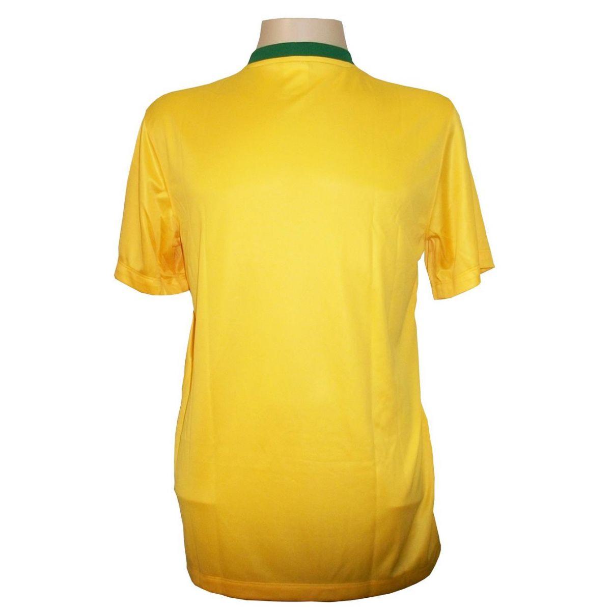 Camisa Brasil Home Infantil - Tecido Dri-fit - Nike  - ESTAÇÃO DO ESPORTE