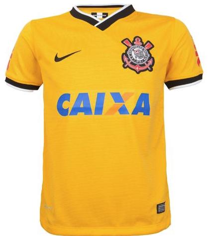 Camisa Corinthians Infantil SS 3RD Torcedor - Nike - ESTAÇÃO DO ESPORTE ... d8926defe0398
