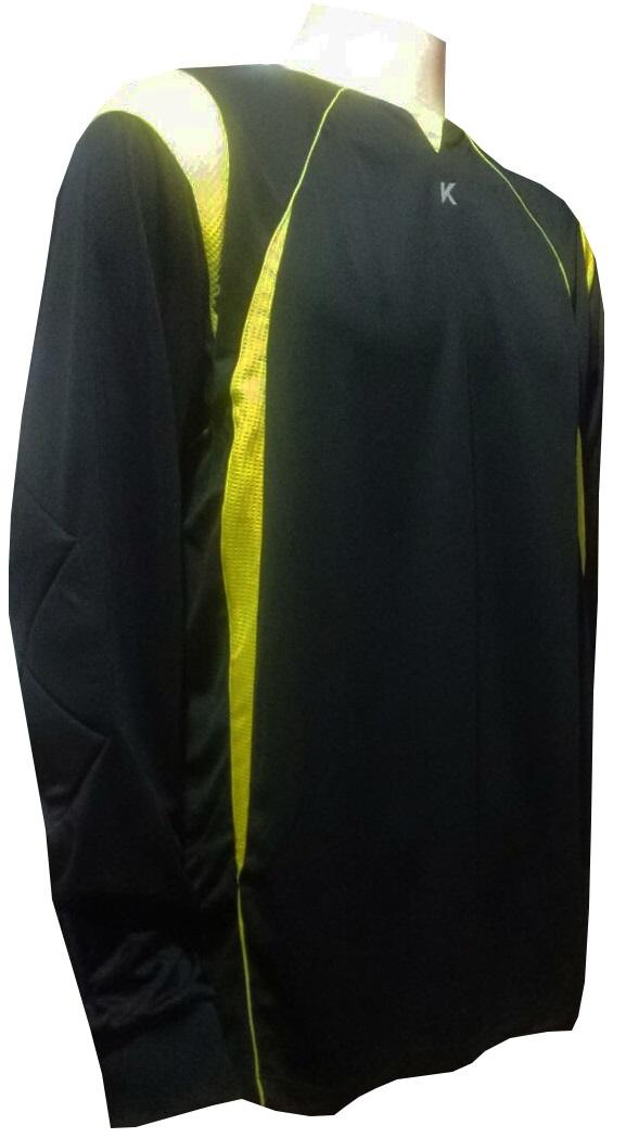 Camisa de Goleiro Modelo Acra Manga Longa Tam GG Nº 1-Kanxa