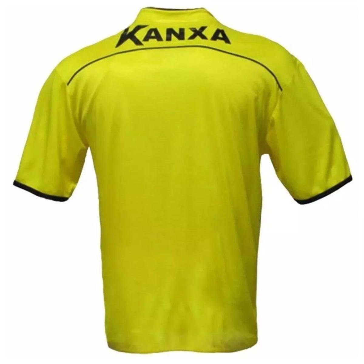 Camisa para Árbitro Kanxa Amarelo