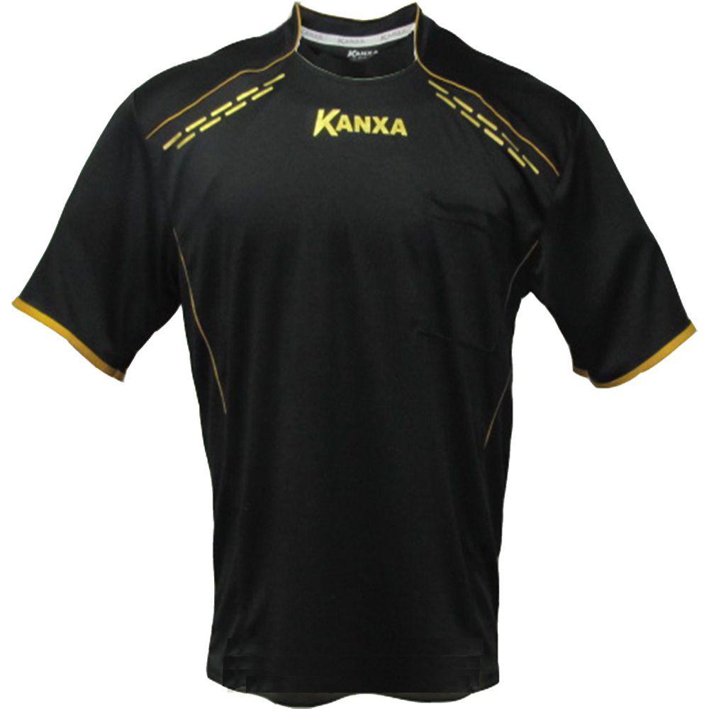 Camisa para Árbitro Kanxa Preto