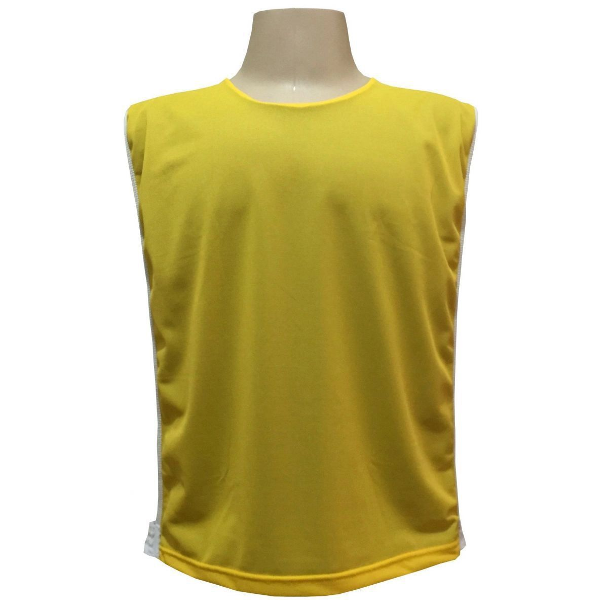 Colete Dupla Face na cor Amarelo/Royal
