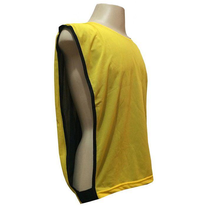 Colete Dupla Face na cor Preto/Amarelo
