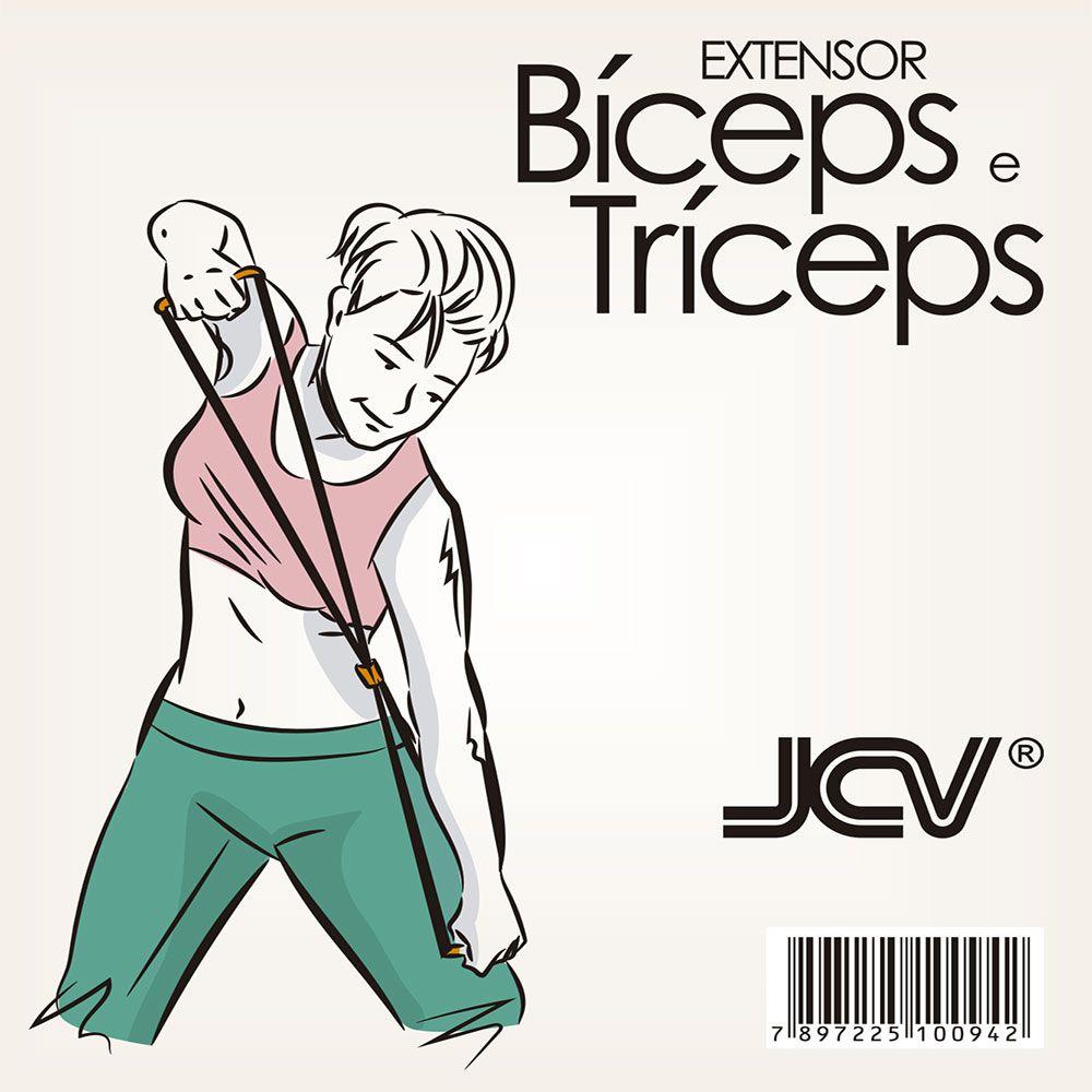 Extensores Elástico JCV Bíceps e Tríceps