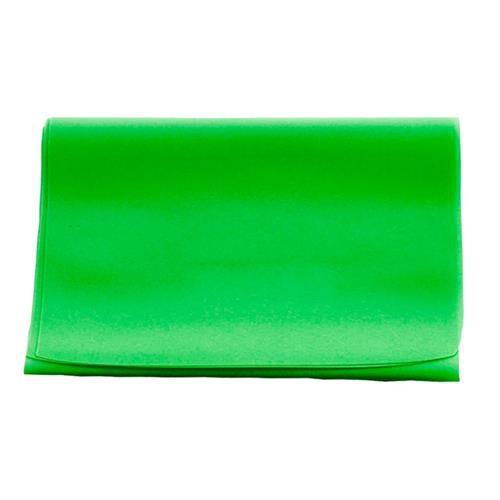 Faixa Elástica Carci Band - Verde Médio - 1,5M - Exercícios E Fisioterapia De Reabilitação
