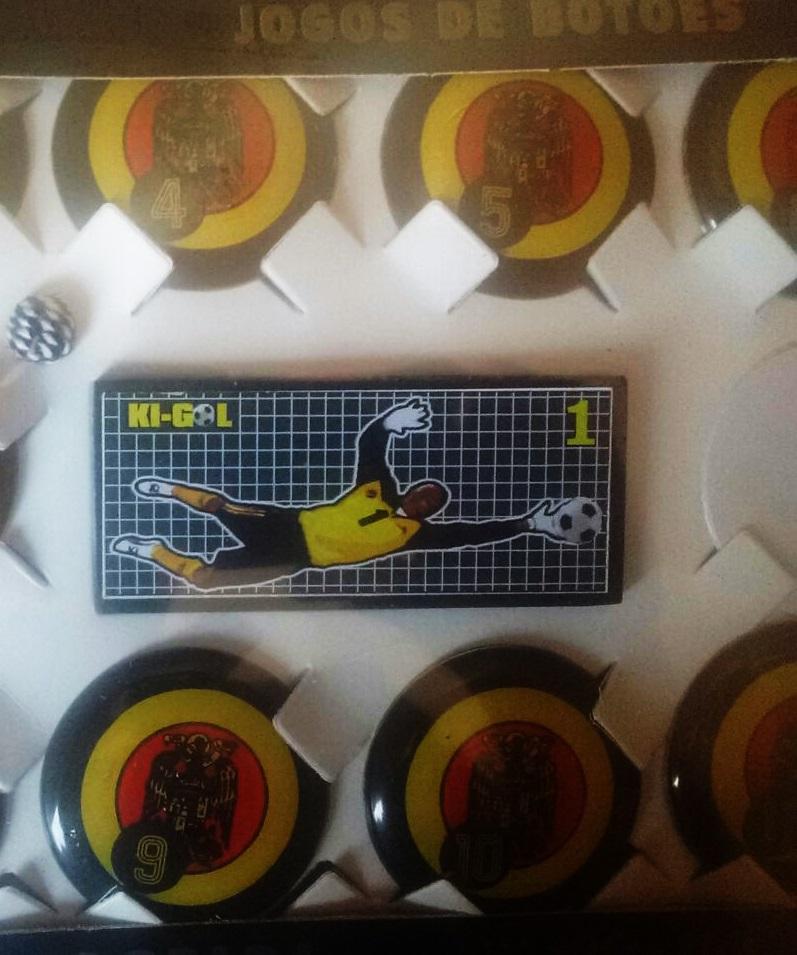 Jogo de Botão Oficial Futebol de Mesa - Kigol  - ESTAÇÃO DO ESPORTE
