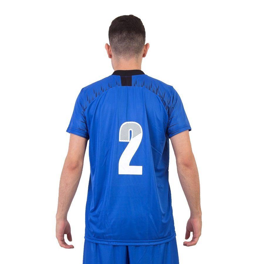 Jogo de Camisa França 18 de Linha e 1 Goleiro Ref 5759