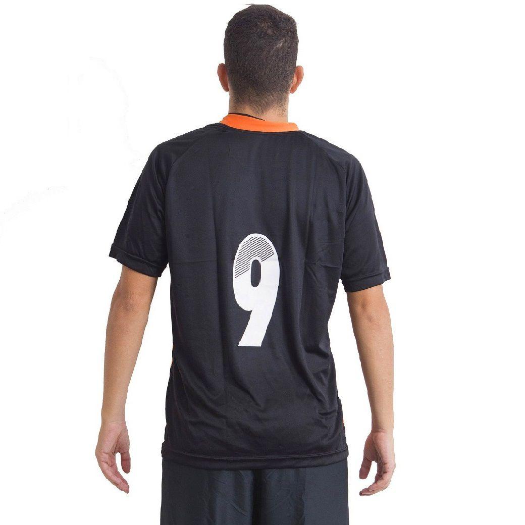 Jogo de Camisa Milan 12 de Linha e 1 Goleiro Ref 5735